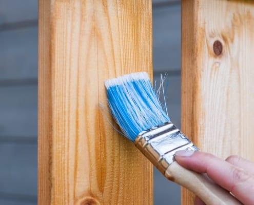 Renovera fritidshus måla