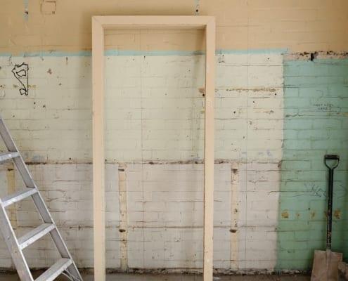 Renovera väggar fritidshus