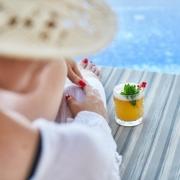 pool nyckelfärdigt fritidshus